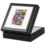 United Nations Fight For Free Keepsake Box