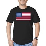 United States of America Men's Fitted T-Shirt (dar