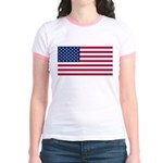 United States of America Jr. Ringer T-Shirt