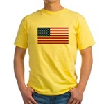 United States of America Yellow T-Shirt