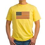 United States of America Yellow T-Shirt