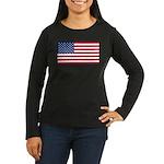 United States of America Women's Long Sleeve Dark