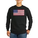 United States of America Long Sleeve Dark T-Shirt