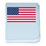 United States of America baby blanket