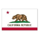 California Sticker (Rectangle 10 pk)
