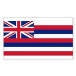 Hawaii Sticker (Rectangle 10 pk)
