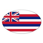 Hawaii Sticker (Oval 10 pk)