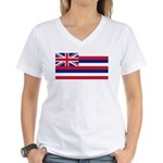 Hawaii Women's V-Neck T-Shirt