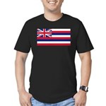 Hawaii Men's Fitted T-Shirt (dark)