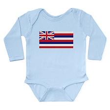 Hawaii Long Sleeve Infant Bodysuit