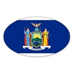 New York Sticker (Oval 10 pk)