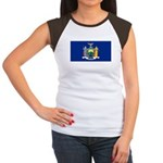 New York Women's Cap Sleeve T-Shirt
