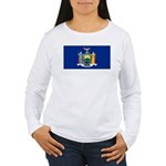 New York Women's Long Sleeve T-Shirt