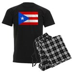 Puerto Rico Men's Dark Pajamas