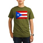 Puerto Rico Organic Men's T-Shirt (dark)