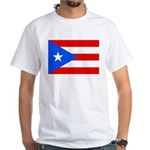 Puerto Rico White T-Shirt