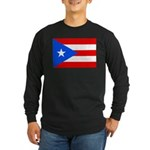 Puerto Rico Long Sleeve Dark T-Shirt