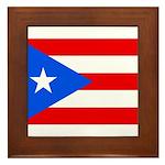 Puerto Rico Framed Tile