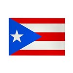Puerto Rico Rectangle Magnet (100 pack)