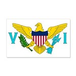 U.S. Virgin Islands 22x14 Wall Peel