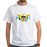 U.S. Virgin Islands White T-Shirt