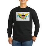 U.S. Virgin Islands Long Sleeve Dark T-Shirt