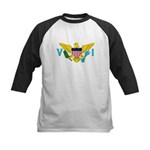 U.S. Virgin Islands Kids Baseball Jersey
