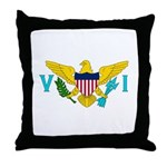 U.S. Virgin Islands Throw Pillow