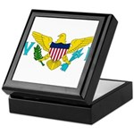 U.S. Virgin Islands Keepsake Box