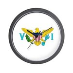 U.S. Virgin Islands Wall Clock