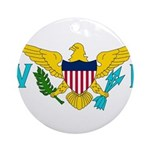 U.S. Virgin Islands Ornament (Round)
