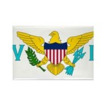 U.S. Virgin Islands Rectangle Magnet (100 pack)