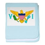 U.S. Virgin Islands baby blanket