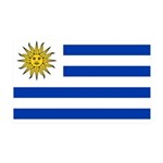 Uruguay 38.5 x 24.5 Wall Peel