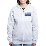 Uruguay Women's Zip Hoodie