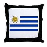 Uruguay Throw Pillow