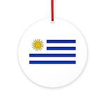 Uruguay Ornament (Round)