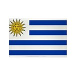Uruguay Rectangle Magnet (100 pack)