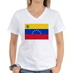 Venezuela Women's V-Neck T-Shirt