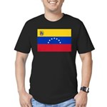 Venezuela Men's Fitted T-Shirt (dark)