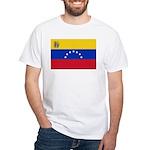 Venezuela White T-Shirt