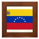 Venezuela Framed Tile