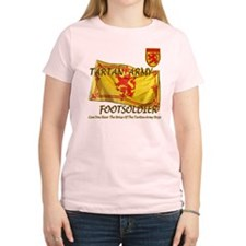Scottish Tartan Army Footsold T-Shirt