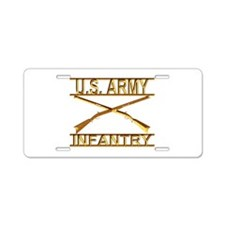Us Army Infantry Aluminum License Plate