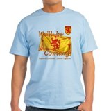 Scotland We'll be Coming Lion T-Shirt