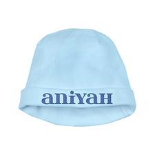 Aniyah Blue Glass baby hat