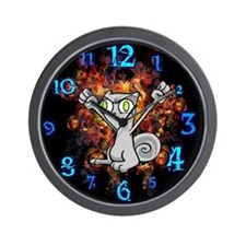 Squirrelly Wrath : Foamy Wall Clock