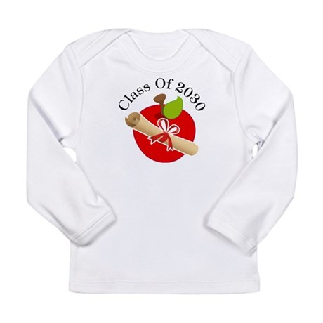 Fun Diploma Class fo 2030 Gift Long Sleeve Infant