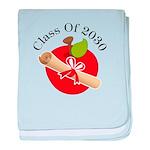 Fun Diploma Class fo 2030 Gift baby blanket