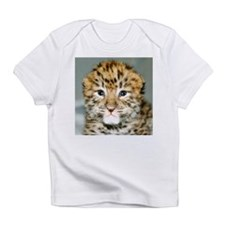 Amur Leopard cub Infant T-Shirt
